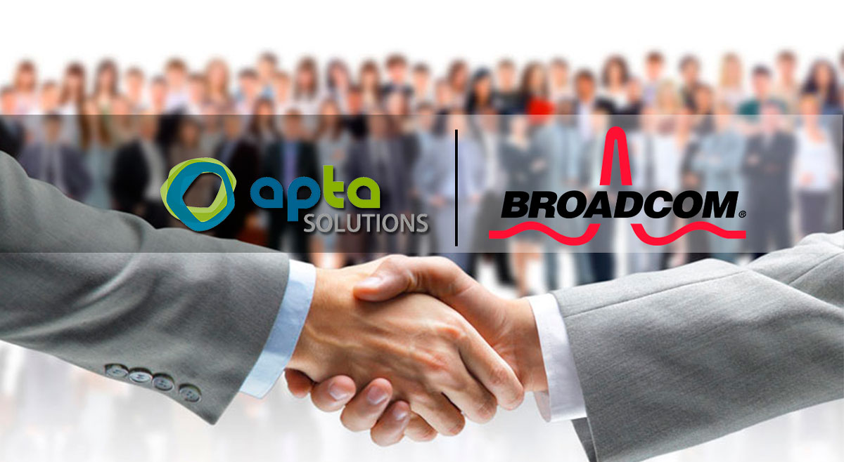 Apta broadcom partnership clarity ppm services
