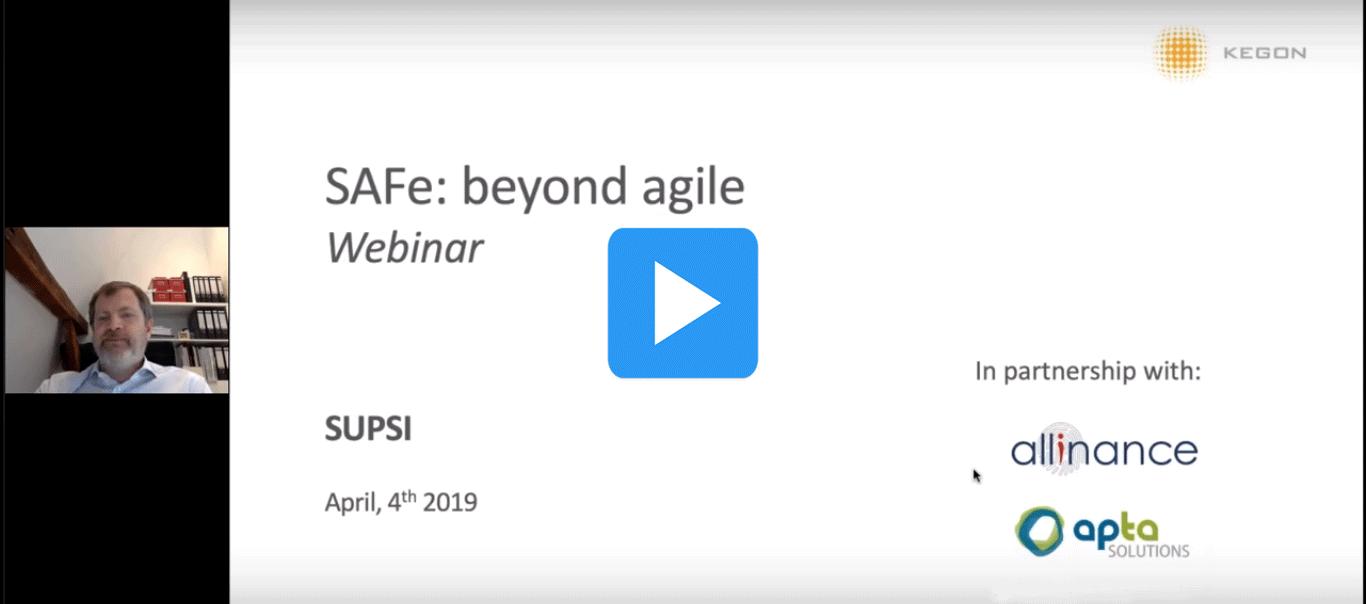 SAFe beyond agile
