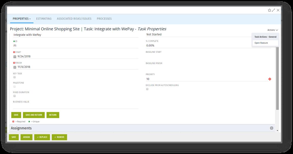 funcionalidades integracion rally clarity ppm