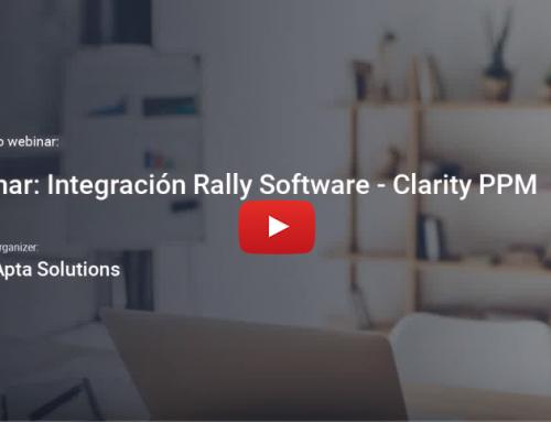 Video: Clarity PPM – Rally Software, beneficios de la integración