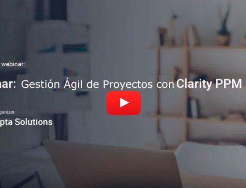 Video: Gestión Ágil de Proyectos con Clarity PPM