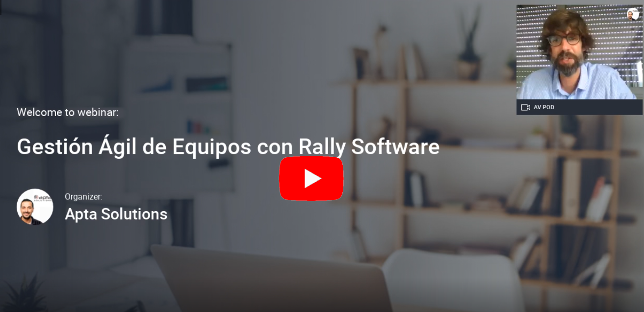 Gestión Agil de Equipos Scrum con Rally Software video