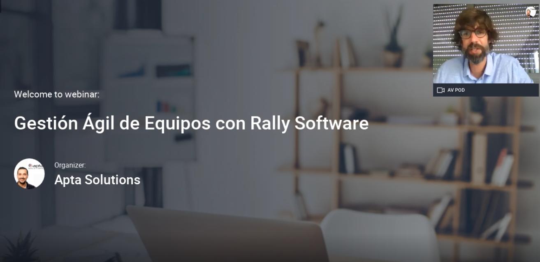Gestión Agil de Equipos Scrum con Rally Software