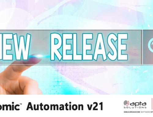Innova rápido y a escala con la nueva versión de Automic Automation v21, de Broadcom